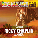 Ricky Chaplin at the Reggae Jam Festival