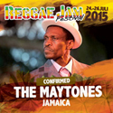 Vernon Maytone at the Reggae Jam Festival